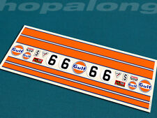 Scalextric/Slot Car 1/32 Scale Peel & Stick  Decals. ds202