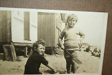 WALTON ON THE NAZE   BEACH HUT FUN  1920s 35 photographs approx 8x 8 cm