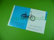 406ka2 brochure, dépliant (France/France): cyclomoteur t 100, 110 (Jeunet)