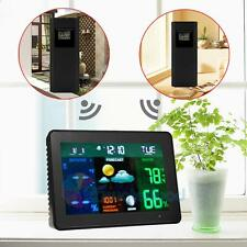 Wireless Color Weather Station Precision Forecast Temperature Humidity Barometer