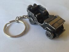 Willys Jeep ref309 3D split-ring keyring FULL CAR