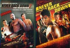 NEVER BACK DOWN 1-2: Beatdown-Michael Jai White-Sean Faris-Martial Arts-NEW 2DVD