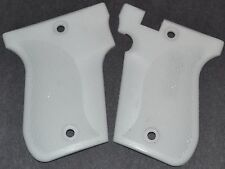Phoenix Arms Model HP22 HP25 pistol grips pure white plastic