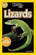 National Geographic Readers: Lizards by Marsh, Laura