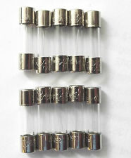 Fuse 1.25a  20mm LBC F1.25a L 250v Quick Blow Fast   x10pcs