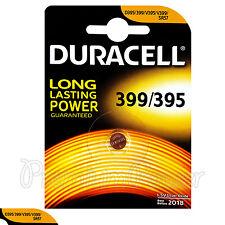 1 x Duracell Silver Oxide 399/395 1.5V battery D395 V395 V399 SR57 SR927SW