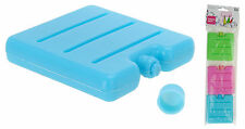 Pack of 3 Mini Travel Cool Box Bag Ice Freezer Blocks Packs Sandwich Cool Bag