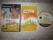 PS2 SINGSTAR SUMMER PARTY PAL ESPAÑA COMPLETO PLAYSTATION 2