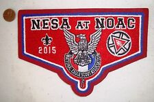 OA NESA NATL EAGLE SCOUT PATCH NOAC 2015 100TH ANN RED CHENILLE FLAP 250 MADE