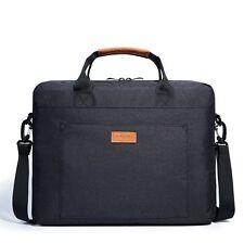 KALIDI 17 Inch Padded Laptop Messenger Bag Shoulder Bag Briefcase Black