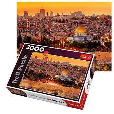 Trefl 3000 Piezas Adulto Grande Jerusalén techos de vista Israel Santo Rompecabezas Nuevo