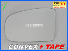 Wing Mirror Glass CONVEX + TAPE MERCEDES ML W164 2005-2008 Left Side #381