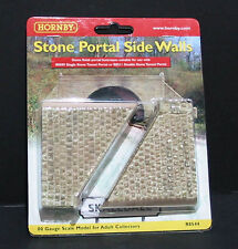 R8544 Hornby Model Railway Accessories Stone Tunnel Portal Side Walling OO Gauge