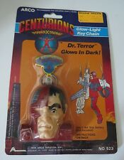 Centurions Key Chain Dr. Terror, New In Package 1986