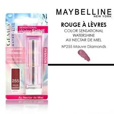 Rouge à lèvres SENSATION WATERSHINE 255 MAUVE DIAMONDS DE GEMEY MAYBELINE