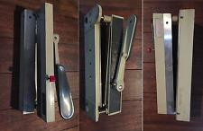 ancien massicot outil objet metier decoupe photo papier divers KOBLER