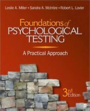 Foundations of Psychological Testing: A Practical Approach, Lovler, Robert L., M
