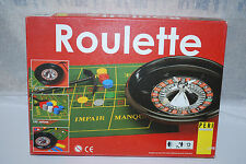 Peri Spiele 27cm Roulette Wheel Set Smooth Action Wheel Chips Rake Layout Rules