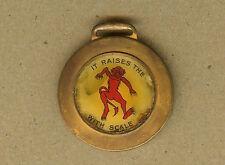 Vintage Arrow Boiler Devil Compound, St.Louis, Missouri MO Watch Fob