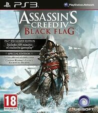 Assassins Creed IV 4 Black Flag Special Edition Sony PlayStation 3 PS3 Brand New