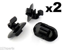 2x Bonnet Stay Retainer Clips for Bonnet Support Strut Rod - Citroen & Peugeot