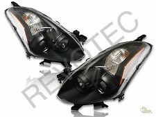 Black Housing Projector Headlights For 2010-2013 Nissan Altima 2Dr Coupe S SE