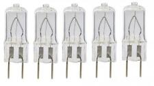 5 Bulbs 20 Watt Xenon T4 G8 20w 20 watt 120V Clear GY8.6 - by LSE LIGHTING