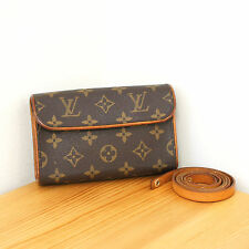 Louis Vuitton Monogram Florentine Waist Bag LV Fanny Pack / Clutch/ Small Purse