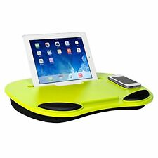 Laptop Lap Desk Tray Phone Computer Tablet iPad Notebook Cushion Portable Green