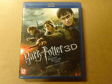 BLU-RAY + 3D / HARRY POTTER AND THE DEATHLY HALLOWS - PART 2 - IN 3D