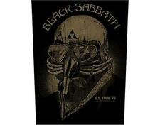 OFFICIAL LICENSED - BLACK SABBATH - US TOUR 78 SEW ON BACK PATCH METAL ROCK OZZY