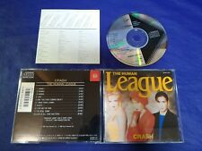 The Human League Crash Japan 1st CD 1986 32VD-1041