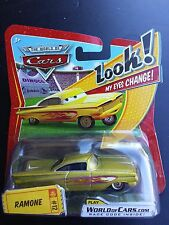 DISNEY PIXAR CARS YELLOW RAMONE EYES CHANGE WOC ROR SAVE 5% WORLDWIDE FAST SHIP