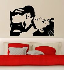 Wall Stickers Vinyl Decal For Bedrooms Love Couple Passion Romance Decor (ig671)