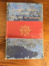 Standing Orders Of The Brigade Of Guards 1952 Rare Vintage Military