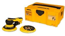 "Mirka Deros MID55020CAUS 550XCV - 5"" Vacuum-Ready Finishing Sander with Case"