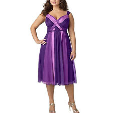 Women Plus Size Sleeveless V-neck Dress High Waist Party Dresses Exotic