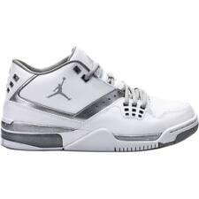 Nike Air Jordan Flight 23 White Metallic Silver Retro 317820-100 SIZE US 11