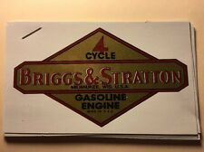 Briggs & Stratton old repro #46 1946-47 First Gasoline Engine Decal