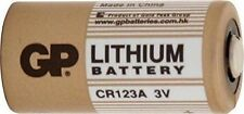 GP Lithium Battery 3V CR123A for LED Torches & Digital Cameras