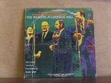 WEAVERS, AT CARNEGIE HALL - WHITE LABEL PROMO LP SEEGER