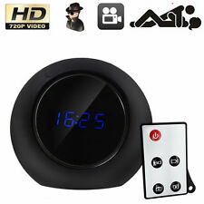 HD 720P Spy Alarm Clock Camera Remote Motion Detection Mini DVR Video Recorder