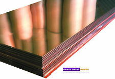 "Copper Sheet .0216"" Thickness - 16oz - 24 Gauge - 18"" x 96"" FREE SHIPPING"