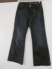 WOMEN'S 7 FOR ALL MANKIND GINGER WIDE LEG FLARE JEANS SIZE 26 VGUC