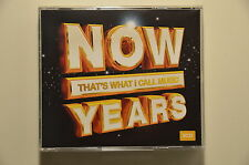 Various Artists - Now That's What I Call Music YEARS UK 3x CD album LIKE N E W