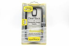 GENUINE OTTERBOX SAMSUNG GALAXY S5 MY SYMMETRY PROTECTIVE CASE COVER BLACK/CLEAR
