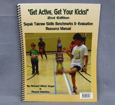 Sepak Takraw Skills Benchmarks Evaluation Softcover Kick Volleyball NEW Spiral