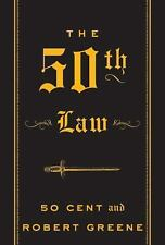 The 50th Law by Robert Greene and 50 Cent Staff (2009, Hardcover)