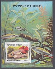 D. Fische  Meerestiere  Benin  Block V  **  (mnh)
