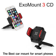 ExoMount 3 CD Slot Car Mount Holder EXOGEAR iPhone 7 6 6S Plus samsunge etc BEST